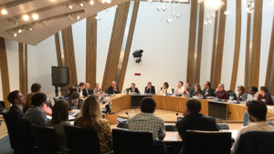 Scottish Crucible 2018 discusses Policy at Scottish Parliament